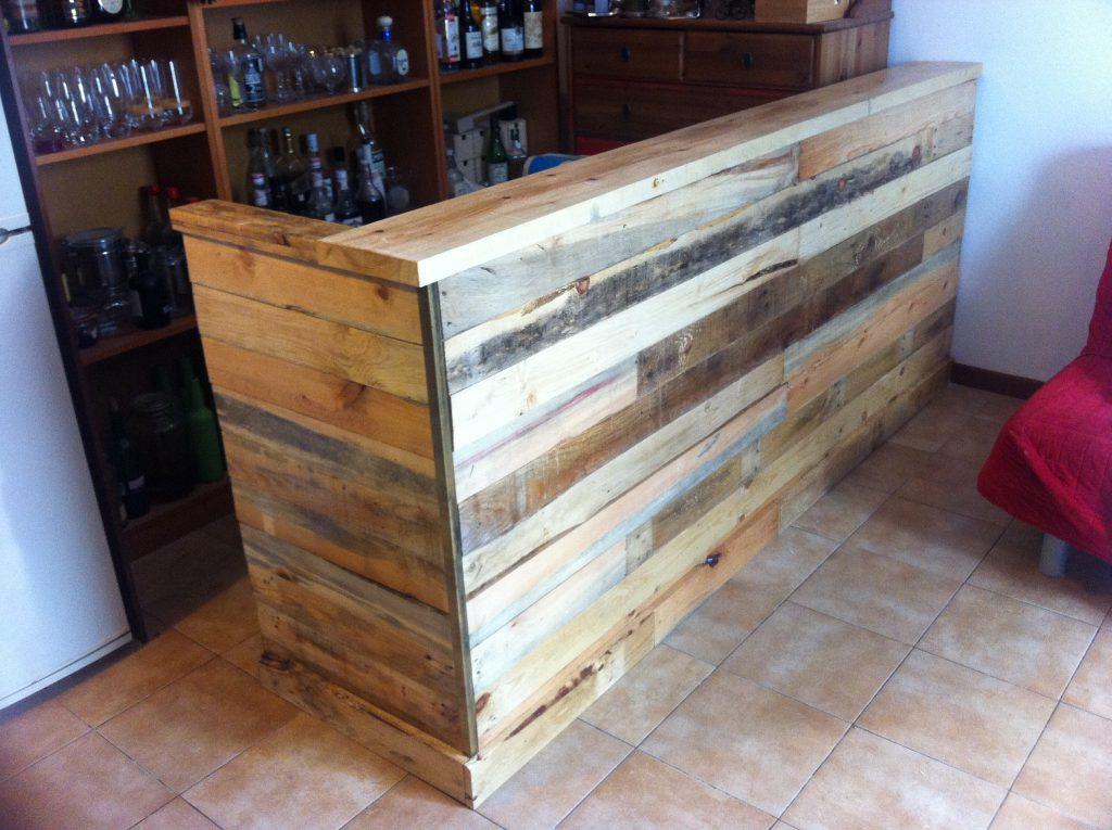 Muebles industriales a medida tienda restauraci n el - Mueble barra bar ...