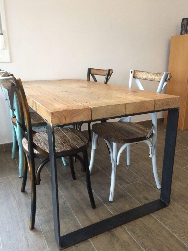 Muebles industriales a medida tienda restauraci n el for Muebles para comedores industriales