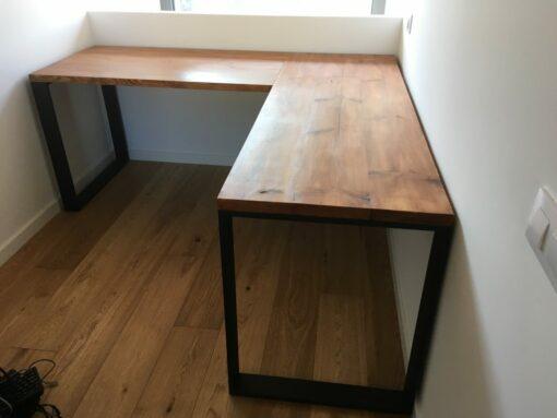 Mesa-escritorio estilo-industrial-a medida